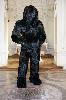 4e Biennale de sculpture. Le corps de la sculpture. : 9.3, Cyrille André, 2010, résine et chevreau, 247x120x80 cm, crédit photo : Cyrille André