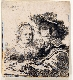 Rembrandt en noir & blanc