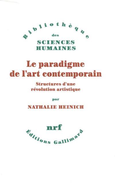 A lire absolument : Le Paradigme de l'art contemporain