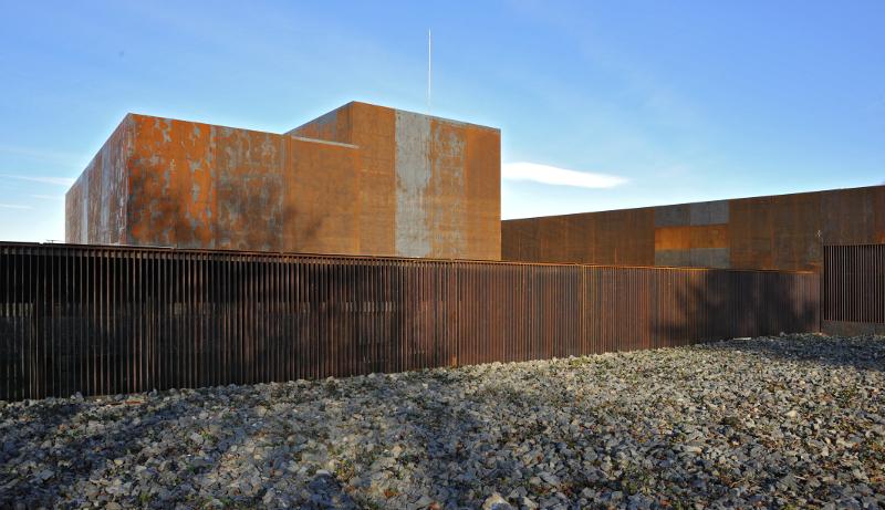 le musée soulages à rodez | RCR Arquitectes | Pinterest ...