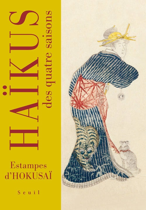 Haïkus des quatre saisons – Estampes d'Hokusaï